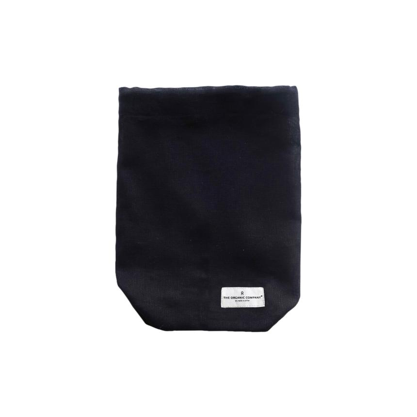 Food Bag medium black 24x30cm
