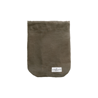 Food Bag medium clay 24x30cm
