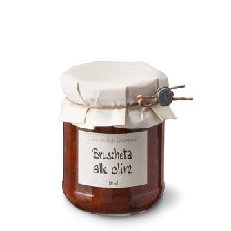 Bruschetta alle olive 180ml