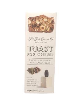 Toast for Cheese Datteln, Haselnuss, Pumpkin 100g