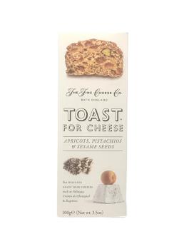 Toast for Cheese Aprikose, Pistazien, Sesam100g