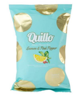 Chips Quillo Lemon & Pink Pepper 130g